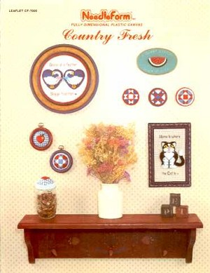 Country Fresh - (Cross Stitch)