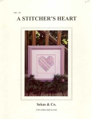 A Stitcher's Heart - (Cross Stitch)