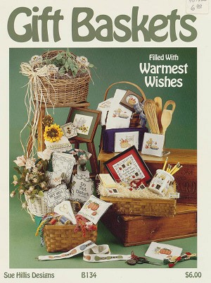 Gift Baskets Filled with Warmest Wishes - (Cross Stitch)