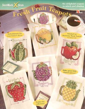 Fresh Fruit Teapots - (Cross Stitch)