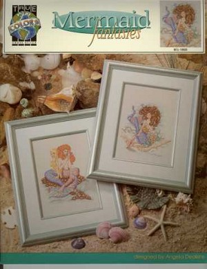 Mermaid Fantasies - (Cross Stitch)