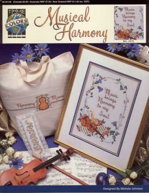 Musical Harmony - (Cross Stitch)