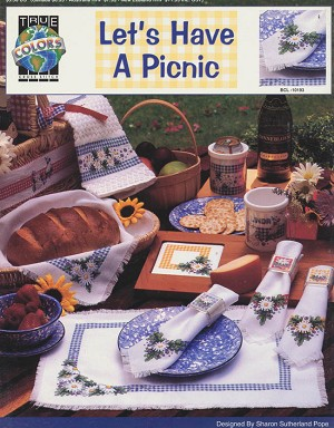 Let's Have a Picnic - (Cross Stitch)