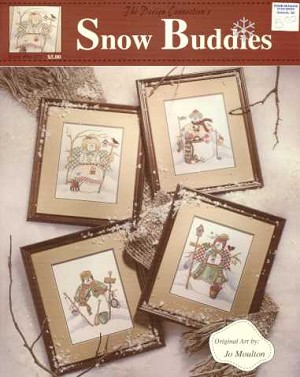 Snow Buddies - (Cross Stitch)