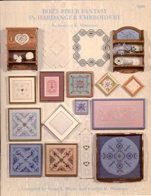 Roz's Fiber Fantasy in Hardanger Embroidery - (Cross Stitch)