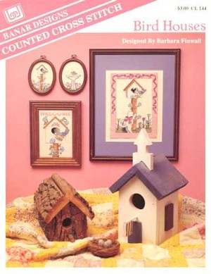 Bird Houses - (Cross Stitch)