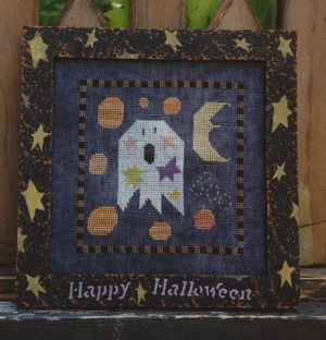 Raining Pumpkins - (Cross Stitch)
