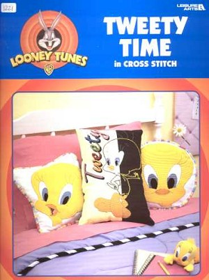 Looney Tunes Tweety Time - (Cross Stitch)