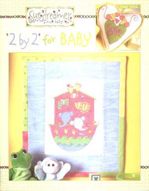 2 by 2 for Baby - (Cross Stitch)