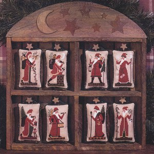 Old World Santas - (Cross Stitch)