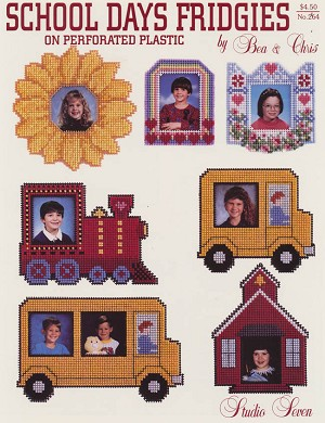 School Days Fridgies - (Cross Stitch)