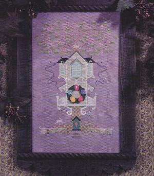 A House in the Wood - (Cross Stitch)