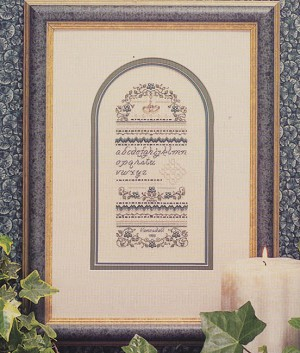 Forget Me Not Sampler - (Cross Stitch)