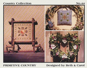 Primitive Country - (Cross Stitch)