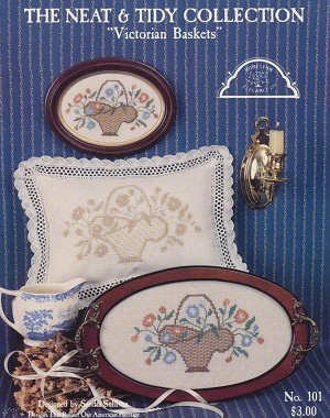 The Neat & Tidy Collection - Victorian Baskets - (Cross Stitch)