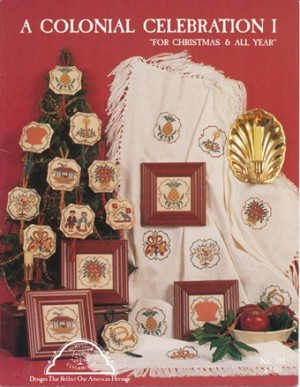 A Coloinal Celebration 1 For Christmas & All Year - (Cross Stitch)