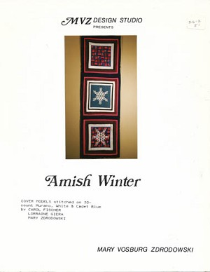 Amish Winter - (Cross Stitch)