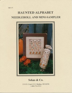 Haunted Alphabet Needleroll and Mini-Sampler