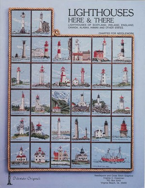 Lighthouses Here & There - (Cross Stitch)