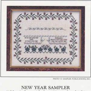New Year Sampler - (Cross Stitch)