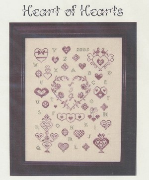 Heart of Hearts - (Cross Stitch)