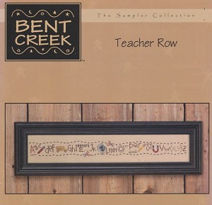 Teacher Row - (Cross Stitch)