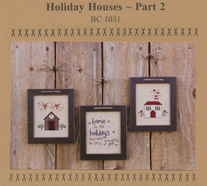 Holiday House Part 2 - (Cross Stitch)
