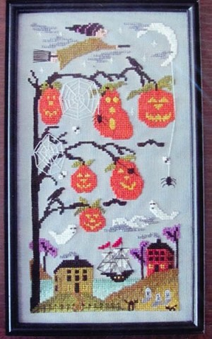 Halloween Cove - (Cross Stitch)