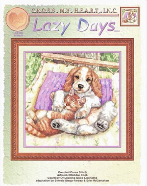 Lazy Days - (Cross Stitch)