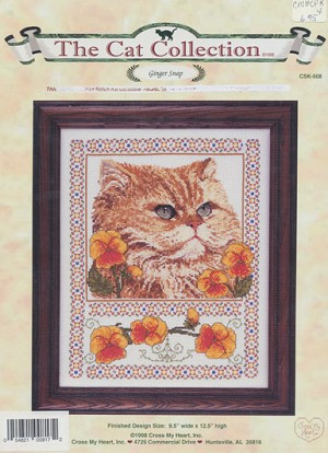 Ginger Snap - (Cross Stitch)