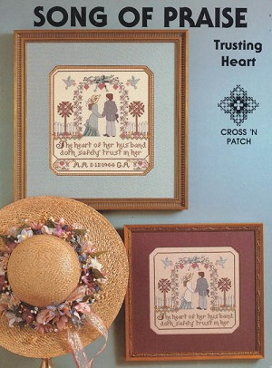 Song of Praise - Trusting Heart - (Cross Stitch)