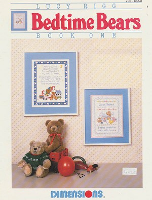 Bedtime Bears - (Cross Stitch)
