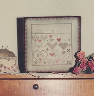 Forever Hearts - (Cross Stitch)