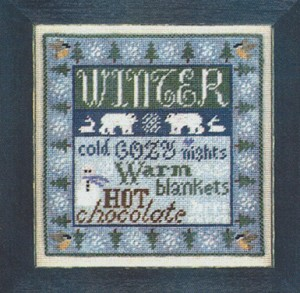 4 Seasons - Winter - (Cross Stitch)