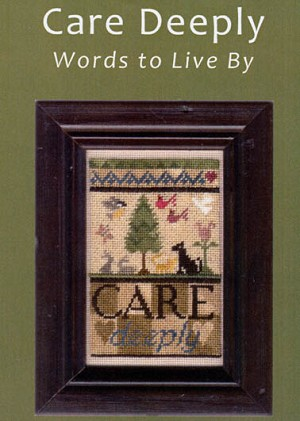 Care Deeply - (Cross Stitch)