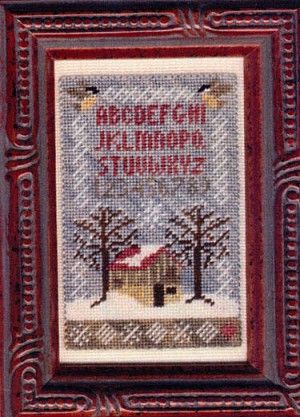 Home in the Winter - (Cross Stitch)