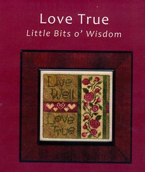 Love True - (Cross Stitch)