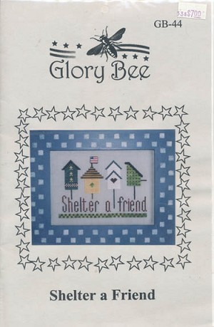 Shelter a Friend - (Cross Stitch)