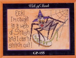 Web of Stash - (Cross Stitch)