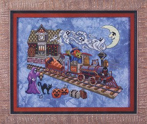 Eerie Express - (Cross Stitch)