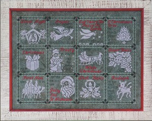 Medley of Carols - (Cross Stitch)