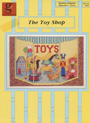 The Toy Shop - (Cross Stitch)