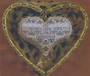 All Hearts Come Home for Christmas - (Cross Stitch)