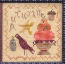 Timely Autumn - (Cross Stitch)