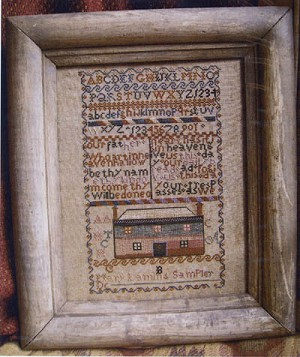 Mary Lamin's Lord's Prayer - (Cross Stitch)