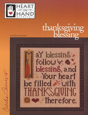 Thanksgiving Blessing - (Cross Stitch)