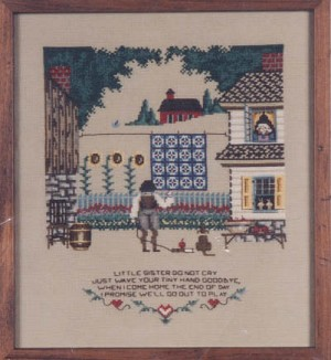 Summer's End - (Cross Stitch)