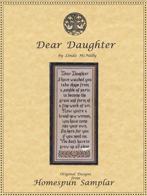 Dear Daughter - (Cross Stitch)