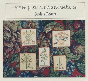 Sampler Ornaments 3 Birds & Beasts - (Cross Stitch)