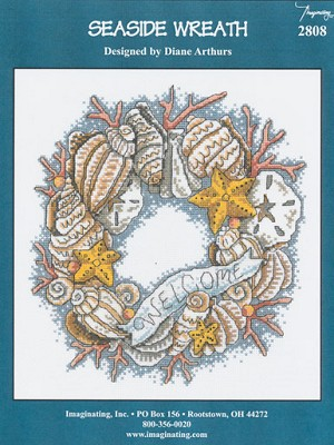 Seaside Wreath - (Cross Stitch)